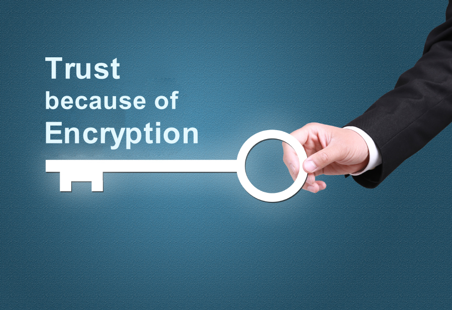 Trust because of Encryption